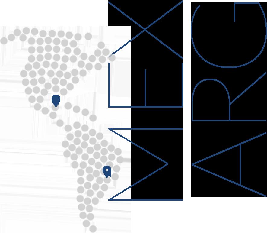 Oficinas en Argentina y México