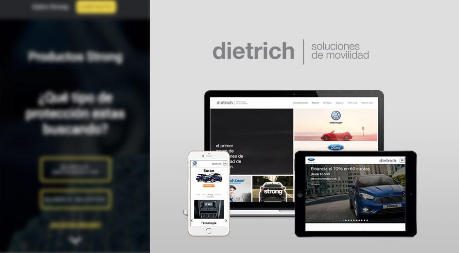 Diseño Web Responsive para grupo dietrich
