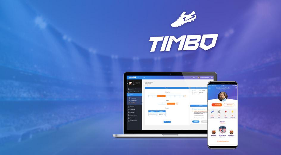 Diseño de App ios y android timbo